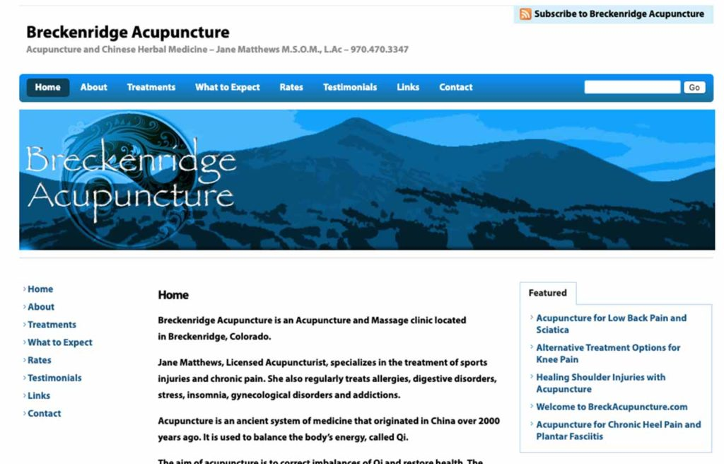 wordpress breckinridge